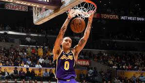 Platz 8: Kyle Kuzma (Los Angeles Lakers) - 584.842 Stimmen.
