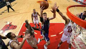 Platz 2: 35 Punkte – Chicago Bulls vs. Sacramento Kings 98:102 in der Saison 2009/10.