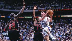 Platz 3: 31 Punkte – Utah Jazz vs. Chicago Bulls 101:93 in der Saison 1997/98.