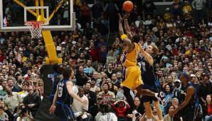 Platz 4: 30 Punkte – Los Angeles Lakers vs. Dallas Mavericks 105:103 in der Saison 2002/03.
