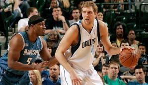 Platz 5: 29 Punkte – Dallas Mavericks vs. Minnesota Timberwolves 107:100 in der Saison 2008/09.