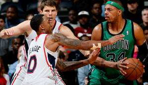 Platz 10: 27 Punkte – Atlanta Hawks vs. Boston Celtics 123:111 2OT in der Saison 2012/13.