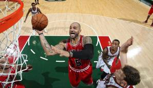 Platz 10: 27 Punkte – Milwaukee Bucks vs. Chicago Bulls 86:93 in der Saison 2012/13.