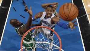 Platz 10: 27 Punkte – Orlando Magic vs. Boston Celtics 83:91 in der Saison 2011/12.