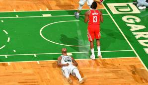 Platz 17: 26 Punkte – Boston Celtics vs. Houston Rockets 99:98 in der Saison 2017/18.