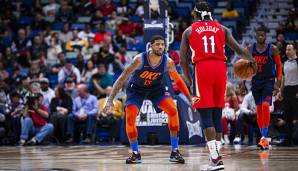 NBA, Jrue Holiday, Paul George, New Orleans Pelicans, Oklahoma City Thunder