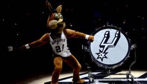 Platz 13 (11): San Antonio Spurs - 1,625 Milliarden Dollar