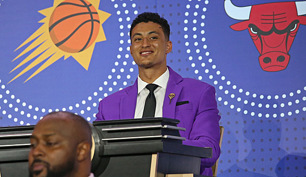 Forward Kyle Kuzma vertrat die Los Angeles Lakers bei der Draft Lottery.