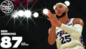 Ben Simmons (Philadelphia 76ers) - Rating: 87