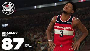 Bradley Beal (Washington Wizards): 87