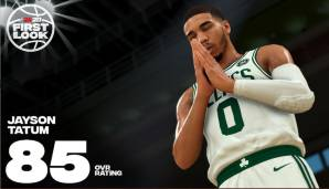 Jayson Tatum (Boston Celtics): 85