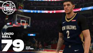 Lonzo Ball (New Orleans Pelicans): 79