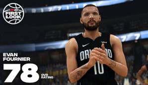 Evan Fournier (Orlando Magic): 78