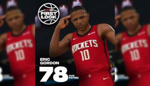 Eric Gordon (Houston Rockets): 78