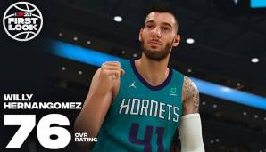 Willy Hernangomez (Charlotte Hornets): 76