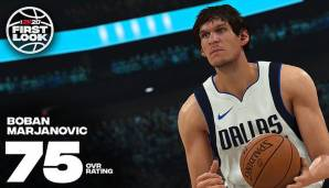 Boban Marjanovic (Dallas Mavericks): 75
