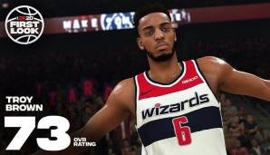 Troy Brown (Washington Wizards): 73