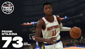 Frank Ntilikina (New York Knicks): 73