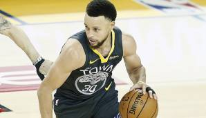 Platz 6: Stephen Curry (Golden State Warriors): 95