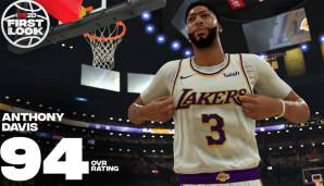 Platz 7: Anthony Davis (Los Angeles Lakers): 94
