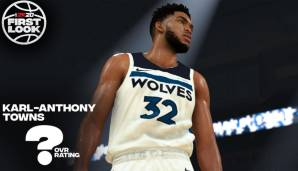 Platz 14: Karl-Anthony Towns (Minnesota Timberwolves): 89