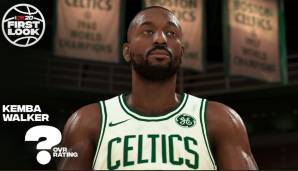 Platz 16: Kemba Walker (Boston Celtics): 88