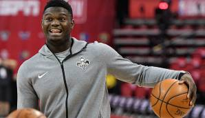 Platz 1: Zion Williamson (New Orleans Pelicans): 81