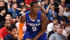 Platz 3: R.J. Barrett (New York Knicks): 78