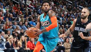 Paul George - 6x All-Star, 5x All-NBA - Stats von 2009/10 bis 2018/19: 19,8 Punkte, 6,4 Rebounds, 3,3 Assists