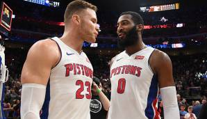 Platz 13 - DETROIT PISTONS: Blake Griffin und Andre Drummond - Die Twin Towers in Motor City ergänzen sich überraschend gut, auch wenn das Spacing nicht immer optimal ist.