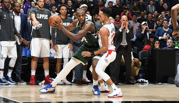 Platz 19: KHRIS MIDDLETON (Milwaukee Bucks) - 6 Punkte im vierten Viertel.
