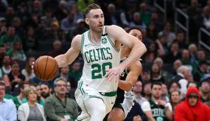 Platz 8: Gordon Hayward (Boston Celtics) - 291.608 Stimmen.