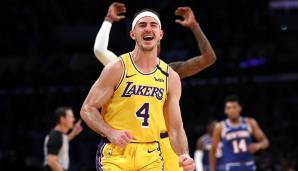 Platz 6: Alex Caruso (Los Angeles Lakers) - 528.246 Stimmen.