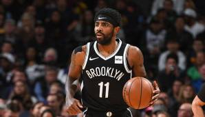 Platz 2: Kyrie Irving (Brooklyn Nets) - 1.351.997 Stimmen.
