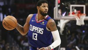 Platz 4: Paul George (L.A. Clippers) - 845.719 Stimmen.