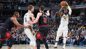 PLATZ 14: Indiana Pacers (Bilanz: 45-28, Platz 4 in der Eastern Conference) - Wettquote: +10.000 (Quote vor dem Restart: +12.500)