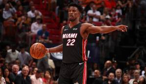 PLATZ 8: Miami Heat (Bilanz: 44-29, Platz 5 in der Eastern Conference) - Wettquote: +3000 (Quote vor dem Restart: +4000)
