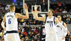 PLATZ 9: Dallas Mavericks (Bilanz: 43-32, Platz 7 in der Western Conference) - Wettquote: +4900 (Quote vor dem Restart: +3500)