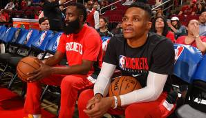 PLATZ 5: Houston Rockets (Bilanz: 44-28, Platz 4 in der Western Conference) - Wettquote: +1300 (Quote vor dem Restart: +1500)