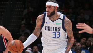 WILLIE CAULEY-STEIN (27, Center) - bleibt bei den Dallas Mavericks - Vertrag: 2 Jahre, 8,2 Mio. Dollar