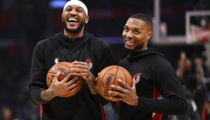 CARMELO ANTHONY (36, Power Forward) - bleibt bei den Portland Trail Blazers - Vertrag: 1 Jahr, 2,6 Mio. Dollar