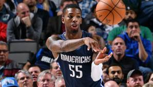 DELON WRIGHT (28, Guard), von den Dallas Mavericks zu den Detroit Pistons - per Trade