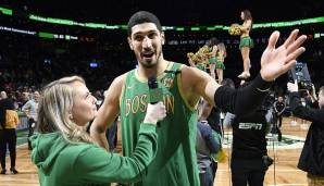 ENES KANTER (28, Center), von den Boston Celtics zu den Portland Trail Blazers - per Trade