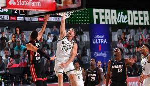 PAT CONNAUGHTON (27, Shooting Guard/Small Forward), bleibt bei den Milwaukee Bucks - Vertrag: 3 Jahre, 16 Mio. Dollar
