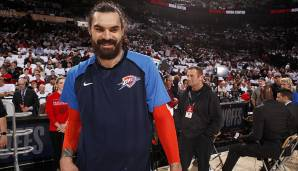 STEVEN ADAMS (27, Center), von den OKC Thunder zu den New Orleans Pelicans - per Trade