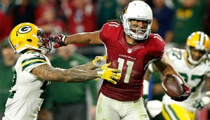 Larry Fitzgerald trug die Cardinals fast im Alleingang ins Championship Game