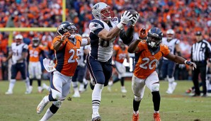 Rob Gronkowski verbuchte zwölf Touchdowns in der Regular Season