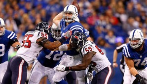 Andrew Luck kam in dieser Saison auf 4.240 Yards, 31 Touchdowns und 13 Picks