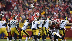 Chris Boswell beförderte die Steelers mit sechs Field Goals ins Conference-Championship-Game