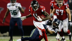 Julio Jones schlug Richard Sherman mehrfach deutlich